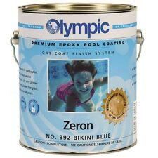 Kelley Technica Olympic 392GL Zeron One Coat Epoxy Pool Coating, Bikini Blue New