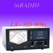 INRADIO IN-CN600 CROSS NEEDLE POWER SWR METER 1.8-525 WORLDWIDE DELIVERY INCN600