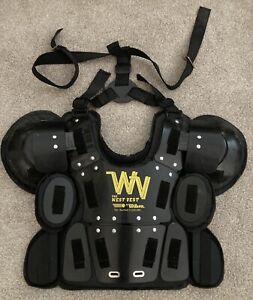 WILSON WEST VEST Gold Umpire Chest Protector ~ M/L