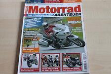 151654) Moto Guzzi 1200 Norge - Derbi Mulhacen 659 - Motorrad Abenteuer 04/2006