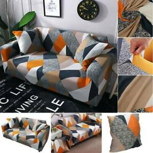 2/3 Seats Sofa Couch Cover Corner Stretch Slipcover Easy Instal Elastic Fabric