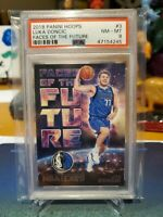 2018 Hoops Faces Of The Future Luka Doncic RC #3 PSA 8 #MrHappiesSports 😁🏀📈💯