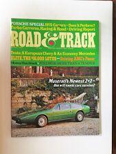 Road & Track Magazine March 1975 Mercedes-Benz 280S - Porsche Carrera Chevy Nova