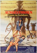 Orig.-Filmplakat AUSGESTOSSEN-Frauen im Zuchthaus - Femmine in fuga Art:Peltzer