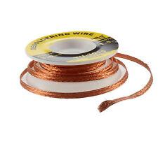 Bobina malla para desoldar desoldadura Soldadura Desoldering Wire 1.5m 3mm 2543
