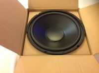 """NEW 12"""" Home Audio Speaker SubWoofer 8ohm Driver DJ PA Pro woofer replacement."""