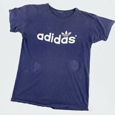1970s Adidas Vintage Tee Shirt 70s Streetwear Athletic Nike RARE double Sided