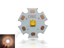 10pcs 6W Cree XLamp XPG3 XP-G3 White or Warm White LED 20mm Copper PCB Board