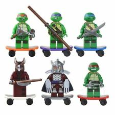 6 Sets Minifigures Teenage Mutant Ninjago Ninja Turtles Toys Souptoys Blocks FR