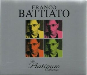 FRANCO BATTIATO 3CD INCELLOPHANATI THE PLATINUM COLLECTION