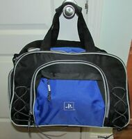Official Sony Playstation Blue Black Duffle Duffel Carrying Travel Gym Bag