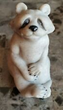 Quarry Critters Rosie Racoon Figurine Gray Stone