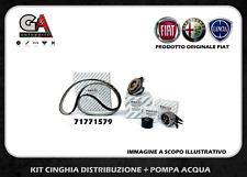 kit cinghia servizi Alfa 159 1.9 2.0 2.4 JTDM + pompa acqua originale Fiat