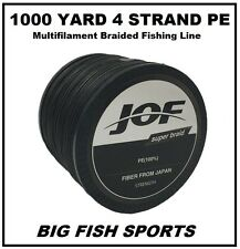 1000M / 80LB Super Strong 4 Strand Pro PE Power Braided Fishing Line 1000 YD NEW
