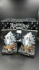 Alchemy Gothic Designs Heavy Resin Unicorn Bookends