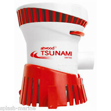 Attwood tsunami T500 12 Voltios Barco Bomba De Achique 500gph Premium Calidad CE aprobado