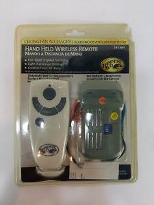 Hampton Bay Hand Held Wireless Remote 191-691 Ceiling Fan Remote