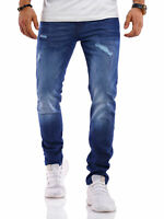 Jack & Jones Herren Jeans Slim Fit Stretch Used Look Jeanshose Denim Herrenhose