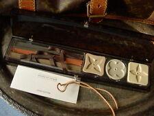 Ultra RARE Authentic LOUIS VUITTON Incense Set VIP Decor Accessory LV Lucite Box