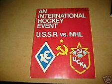 1976 Boston Bruins Vs. USSR 1976 Program Rare Bobby Orr Last Bruin Game Tretiak