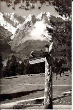 GERMANY: Garmisch, Kramer Plateau Trail - B/W RP - Unposted 1950s