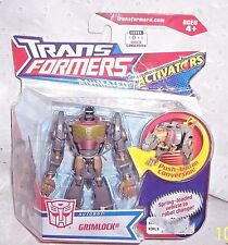 TRANSFORMERS GRIMLOCK  ANIMATED ACTIVATORS  -2008  HASBRO = NEW