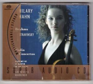 HILARY HAHN:Violin Concertos-Brahms+Stravinsky-Marriner-ASMF-5.1 SURROUND SACD