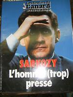 Les dossiers du canard enchainé N° 89 2003 Nicolas Sarkozy L'homme pressé