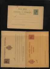 Spain   3 postal  cards   unused     MS0830