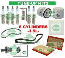 TUNE UP KITS for 02-06 ALTIMA MAXIMA (3.5L): SPARK PLUGS, BELTS & FILTERS
