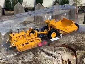 1/50 scale First Gear Allis Chalmers HD21 crawler tractor scraper box ltd ed