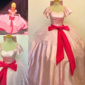 Charlotte La Bouff Princess Dress Cosplay Costume Halloween Dress