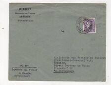 Field Post Office 308 Postmark 1948 Cover to 's-Gravenhage Netherlands 445b