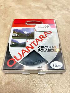 Quantaray Filter 72mm Circular Polarizer in Original Packaging *VERY NICE!*