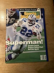 1994 Sports Illustrated Emmitt Smith Cowboys Newsstand Issue