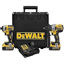 Dewalt DCK299P2 Brushless Hammerdrill and Impact Driver Kit 20-Volt Max Li-Ion