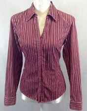 Next Long Sleeved stripped  Shirt UK 10-12        D-1