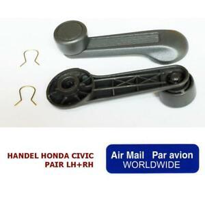 For 91+ Honda Accord Civic Window Winder Handle Crank Cx Dx Ex Si Eg6 B16 D16 Ek