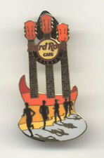 Hard Rock Cafe Chicago Marathon 2011 Gold Back Pin
