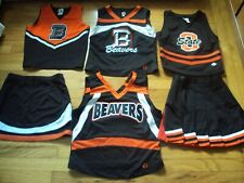 OREGON STATE BEAVERS CHEERLEADER 4 TOPS & 2 BOTTOMS NCAA ISS COLLECTION RALLY