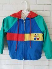 Fisher Price Vintage Little People Jacket Coat Size 3T Toddler Quaker Oats 1985