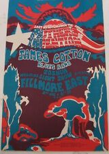 Fillmore East Bill Graham Mothers of Invention Ny#4 poster