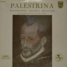 """FELIX DE NOBEL - PALESTRINA - MARCELLI - BREVIS - FUGAM  12""""  LP (N718)"""
