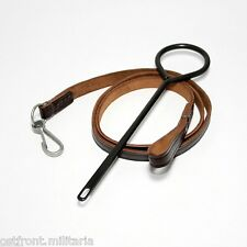 Original Tokarev TT-33 pistol lanyard belt and cleaning rod Tula made
