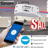 Sonoff Smart Home WiFi Wireless Switch Auto Module For Apple Android APP Control