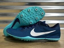 Nike Zoom Mamba 5 Distance Running Track Spikes Jade Blue Green SZ (AJ1697-400)