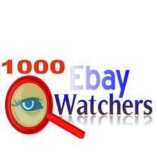 1000 ebay watchers