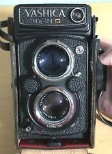 Vintage Yashica Mat 124G TLR Film Camera Yashinon 80mm f/3.5 Made In Japan