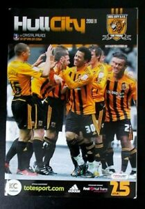 The Tigers Official Matchday Programme Hull City v Crystal Palace 30 April 2011