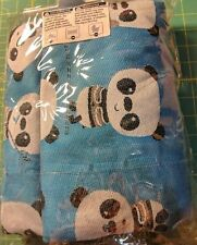 Lenny Lamb Limited Edition Playful Pandas Cotton Woven Baby Wrap Size 4 XS  NWT 22785239bb3